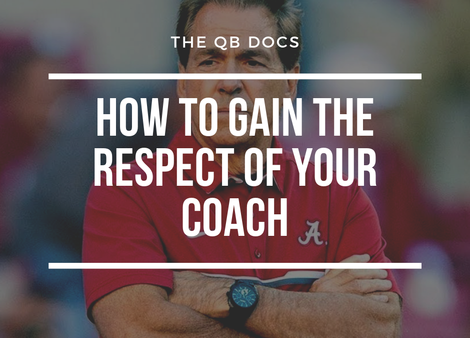 How to Gain the Respect of Your Coach