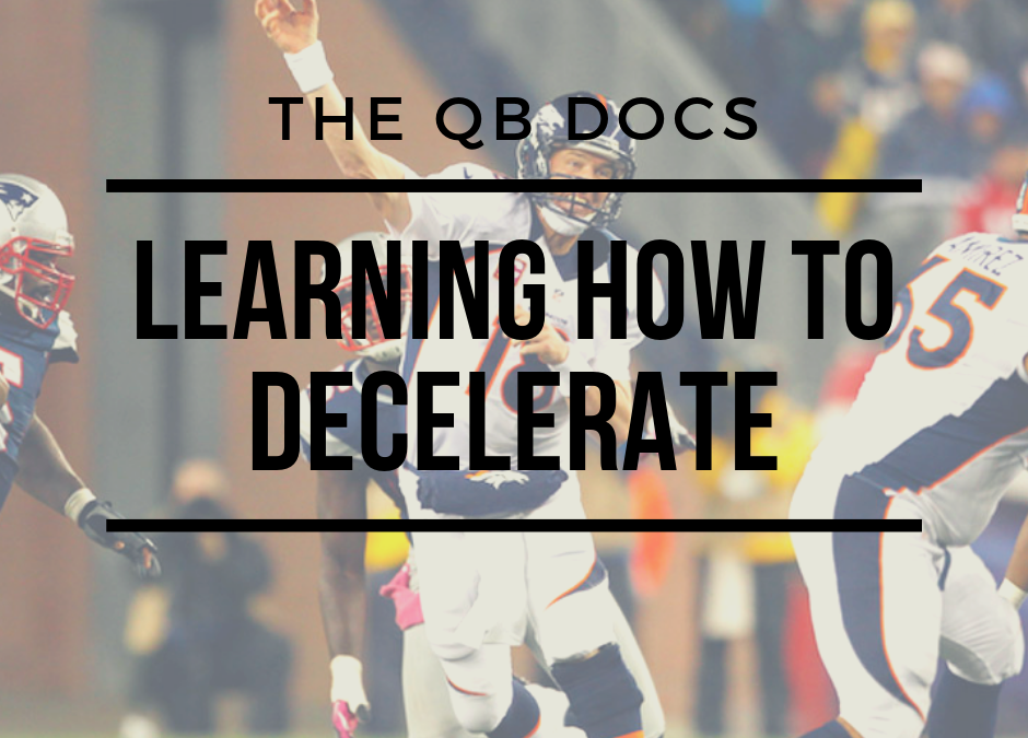 Learning How to Decelerate