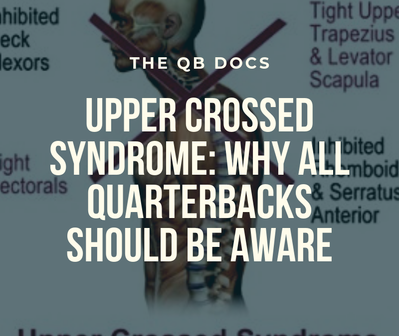 Upper Crossed Syndrome: QB's Need to Know This