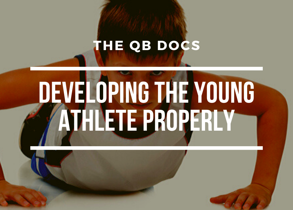 How to Develop the Young Athlete Properly