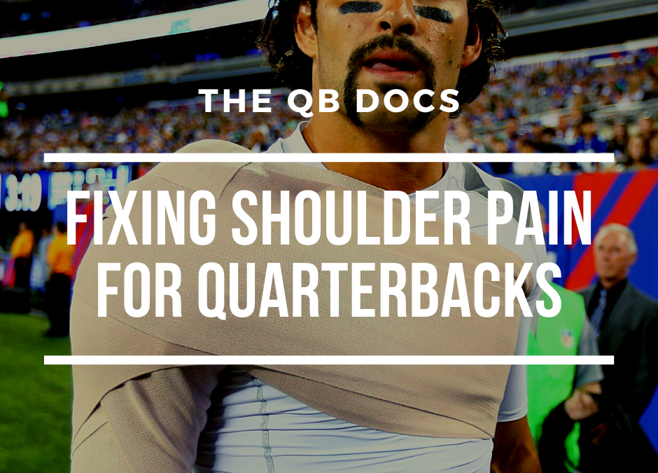 Fixing Shoulder Pain For Quarterbacks